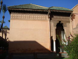 Saadian Tombs, Emily - November 2013