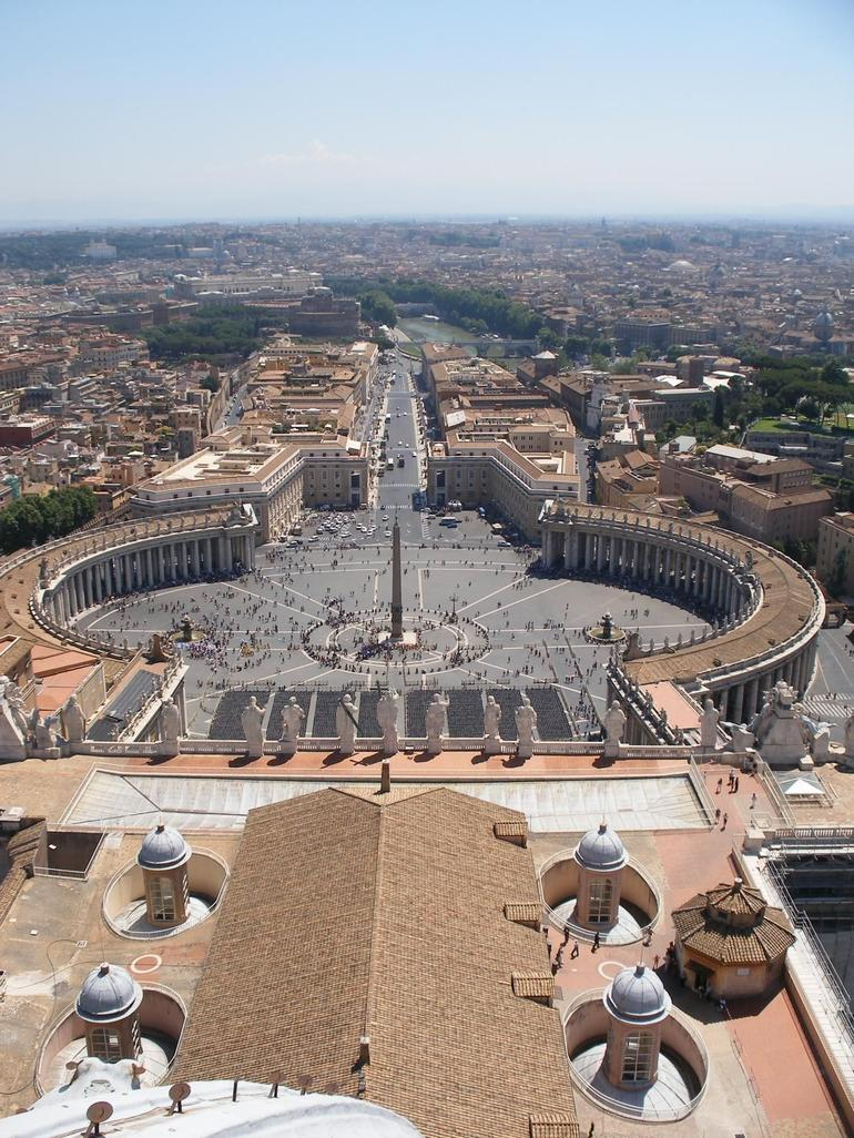 From the Top of St. Peter's in Rome - Rome