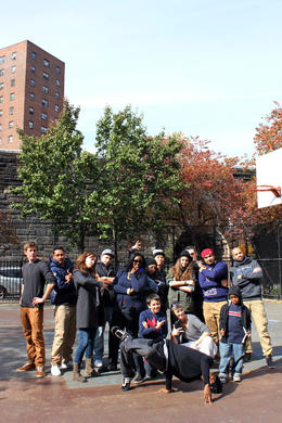 Photo of New York City New York Hip-Hop Tour Group photo