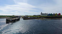 On our way to Orkney Island , Cameron M - June 2014