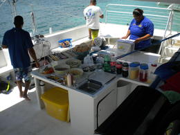 Photo of San Juan San Juan Snorkel and Picnic Cruise Lunch Time