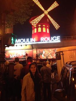 Photo of Paris Moulin Rouge Show Paris outside the