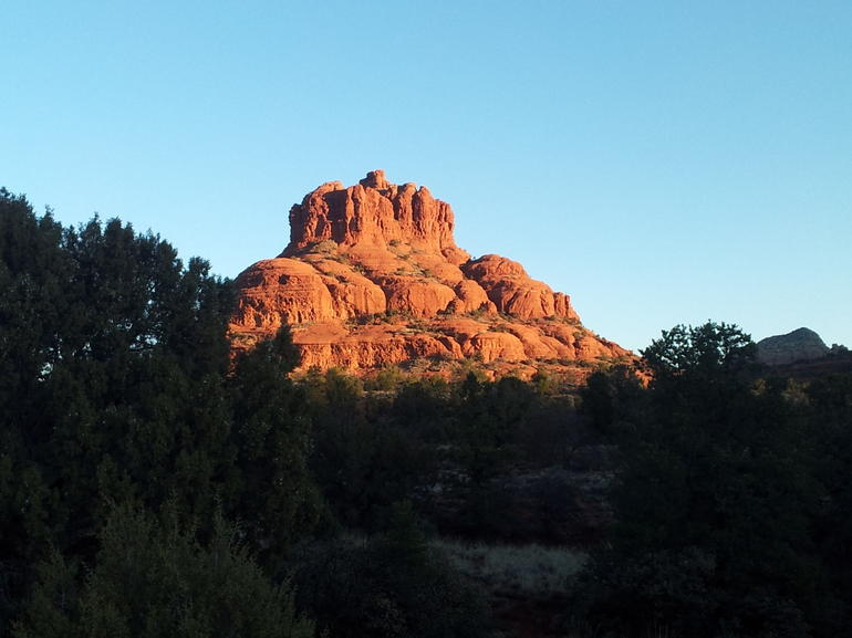 Sunrise at Bell Rock, Sedona. - Phoenix