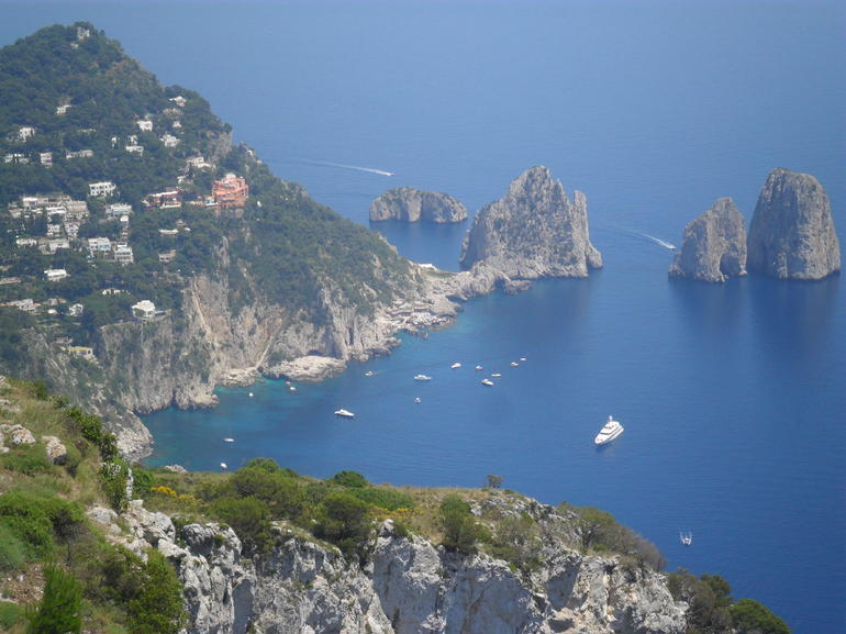 The beautiful island of Capri Italy - Rome