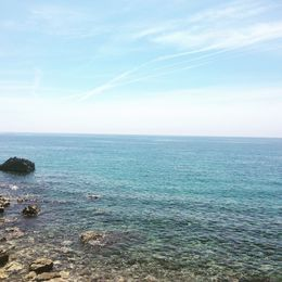 The Mediterranean from Budva. It's beautiful from every angle in every country. Heaven... , Jennifer D - August 2015