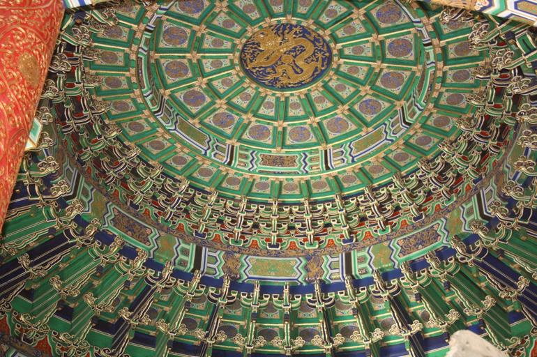 The roof of the tian tan - Beijing