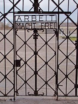 Photo of Munich Dachau Concentration Camp Memorial Small Group Tour from Munich Work Makes Free
