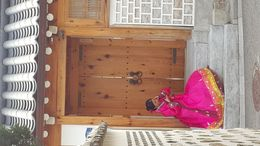 While walking around Bukchon there is a Hanok village where this young girl was seen dressed in a traditional Hanbok sitting at the entrance of a traditional Korean front door. It was Korea's Thanks ... , traceyc - October 2015