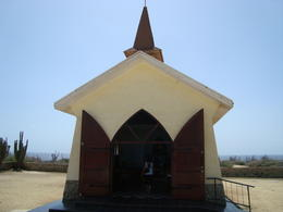 Stopped at this historic chapel for photos, Katiemo - August 2014