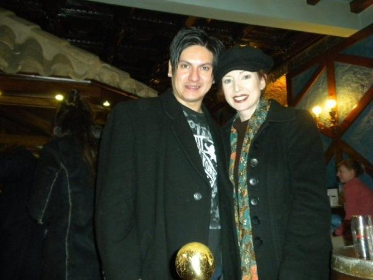 Anthony(me)and Lynette(my Fiancee) - Madrid