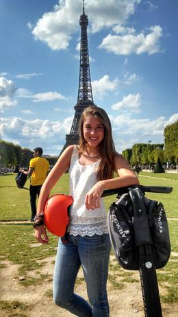 This was my daughter's 16th birthday trip with Dad. Seeing Paris by Segway was by far one of the most awesome things we did on our trip to Europe. We could see important sites up close. Our guide ... , Phillip B - August 2014