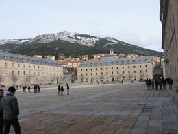Photo of Madrid El Escorial Monastery and the Valley of the Fallen from Madrid El Escorial in February 2010