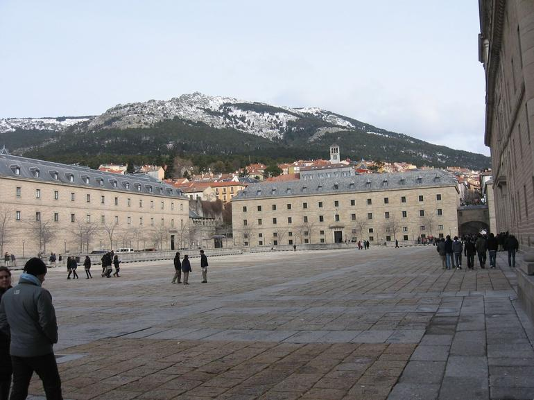 El Escorial in February 2010 - Madrid