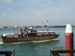 Photo of Venice Venice Marco Polo Airport Link Departure Transfer Hotel courtesy boat