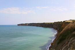 Pointe du Hoc , Ashley P - October 2011