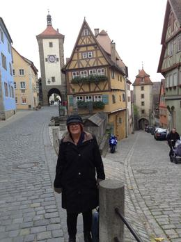 Photo of Munich Salzburg Small Group Day Tour from Munich Main street of Rothenburg