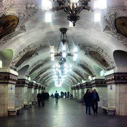 Moscow Metro, Katie H - April 2013