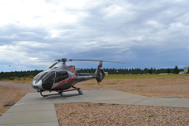Our Helicopter - Grand Canyon National Park