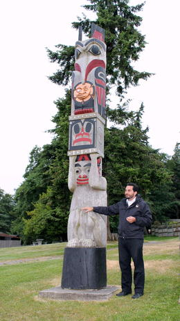 Photo of Seattle Tillicum Village Cultural Experience Our tour guide