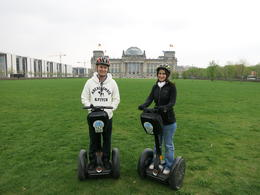 Photo of Berlin Berlin Segway Tour Outside the Reichstag building