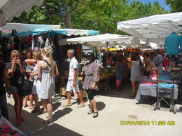 At the market of St. Tropez. , Catorina - August 2012