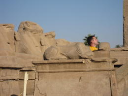Photo of   Relaxing with the Sphinx