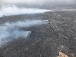 Photo of Big Island of Hawaii 45-Minute Open-Door Volcanoes Helicopter Flight Smoking