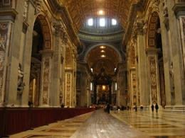 Photo of   The nave, St Peter's basilica, Vatican City