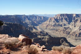 Photo of Las Vegas Grand Canyon West Rim Day Trip by Coach, Helicopter and Boat with Optional Skywalk A view to die for.