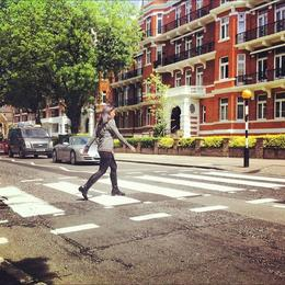 Abbey Road, Ryan & Asha - April 2013