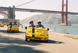 Photo of San Francisco San Francisco Combo: Alcatraz and GPS-Guided GoCar Tour Amazing