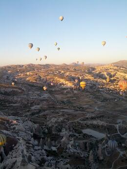 Photo of Cappadocia Cappadocia Hot Air Balloon Ride Balloon ride in Cappadocia