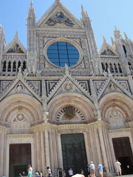 Cathedral in Siena , Michelle L - June 2011