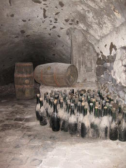 Photo of Rome Frascati Wine Tasting Tour from Rome Dusty old wine bottles...