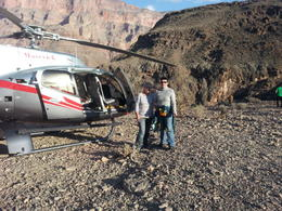Photo of Las Vegas Grand Canyon Helicopter Tour from Las Vegas Ein Traum geht in Erfüllung