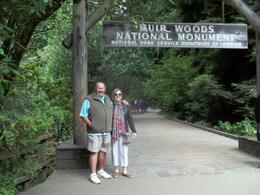 Photo of San Francisco San Francisco Super Saver: Muir Woods and Wine Country Tour Entrance to Muir Woods