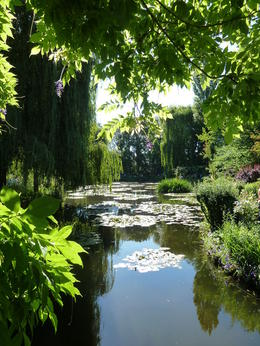 A tranquil moment at Monet's Garden, Giverny. , Kym C - July 2011