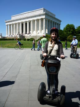 Me on a segway!, Irene - June 2013