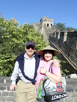 Enjoying the Great Wall , ALBERTO RAUL B - October 2015