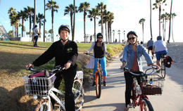 Photo of Los Angeles Electric Bicycle Tour of Santa Monica and Venice Beach More of the crew