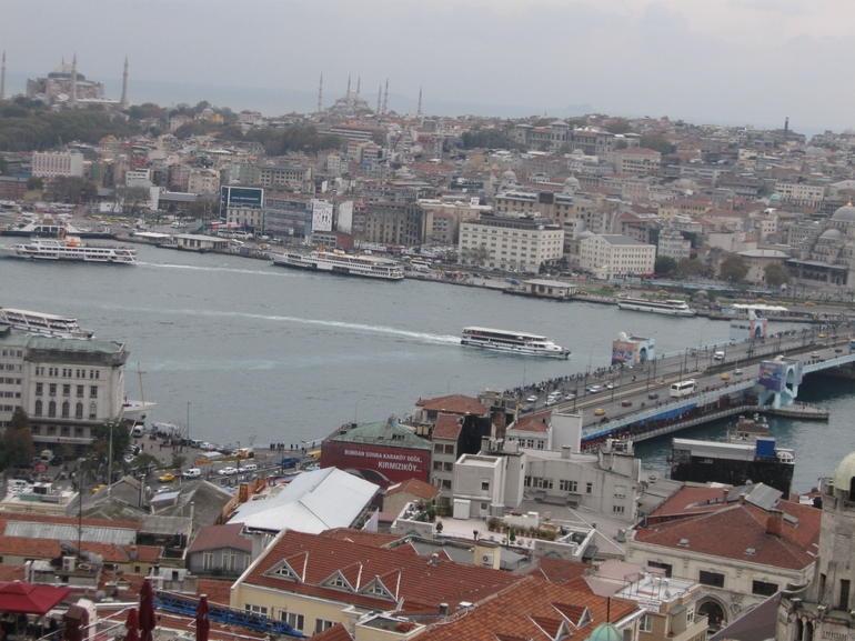 Old Istanbul from the Galata Tower - Istanbul