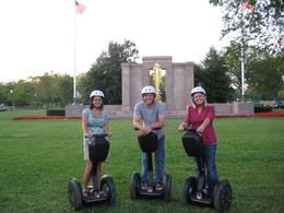 Washington DC: Three Segway riders pose for the camera! - June 2010