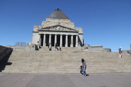 Shrine of Remembrance , Buddhika - October 2015