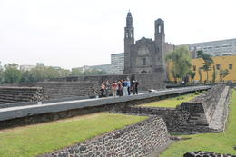 Photo of Mexico City Teotihuacan Pyramids and Shrine of Guadalupe Square of the Three Cultures