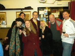 This was our group of merry Tapas troopers!!!We had people from Texas,Wisconson,Germany and Scotland in our quest for Tapas and wine!, ANTHONY A - January 2010