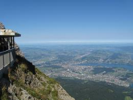 View from the top of Pilatus - September 2009