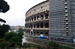 Photo of Rome Skip the Line: Ancient Rome and Colosseum Half-Day Walking Tour View of Colosseum including some renovation