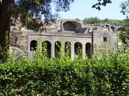 Photo of Naples Mt Vesuvius and Pompeii Day Trip from Naples View of Pompeii from entrance.