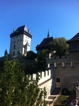 Photo of Prague Karlstejn Castle Half-Day Trip from Prague View of the great tower.