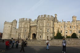 A view when approaching the entrance to the castle. , Steve L - October 2013